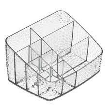 Cosmetic Organizer Compact Clear