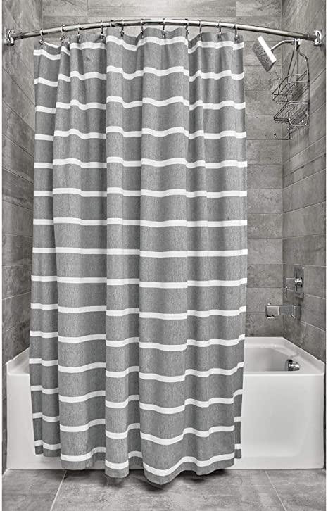 Shower Curtain Thin Stripe