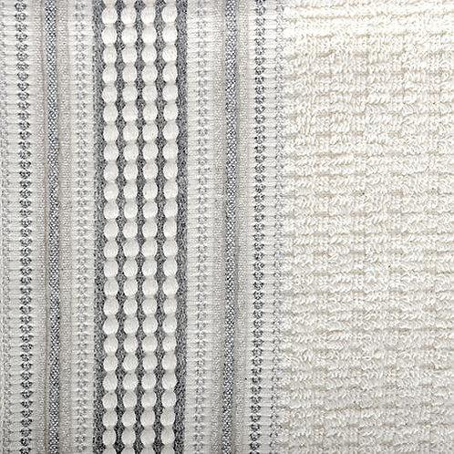 Amadora Hand Towel - Grey/ Natural