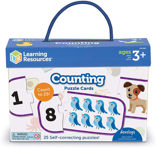 PUZZLE COUNTING CARDS