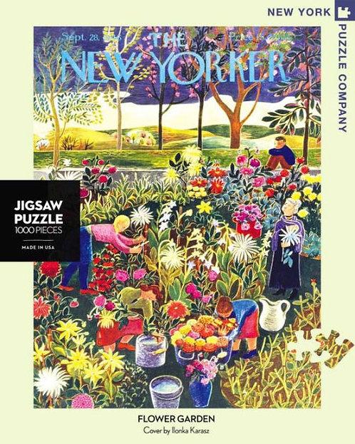 PUZZLE 1000 FLOWER GARDEN
