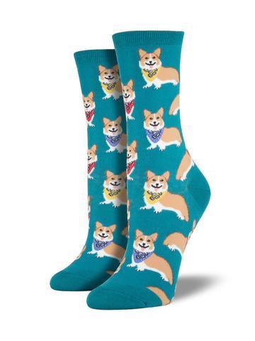 Womens Corgi Emerald Socks