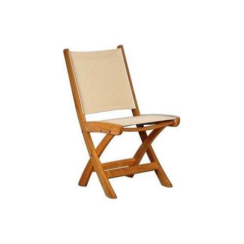 St Tropez Folding Side Chair - BLUE