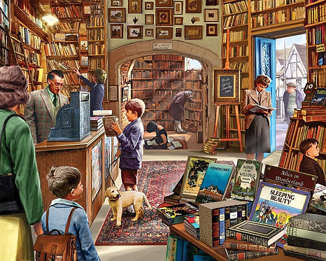 PUZZLE 1000 BOOK STORE