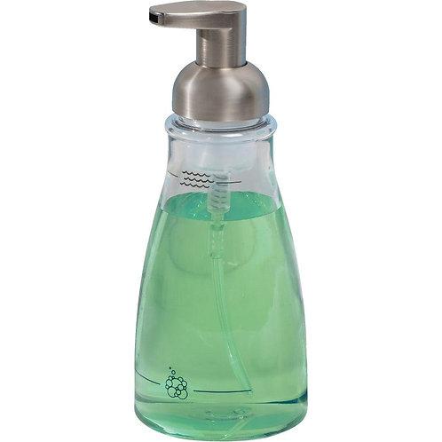 Foaming Soap Pump Clear/Nickle