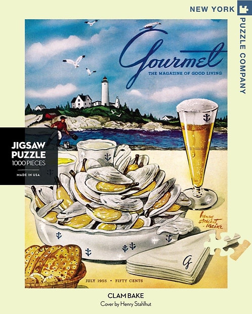 New York Puzzle – Clam Bake
