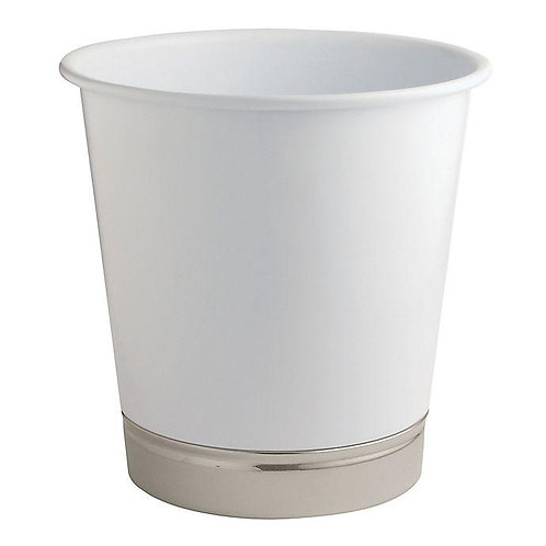 York Pail Waste Can White