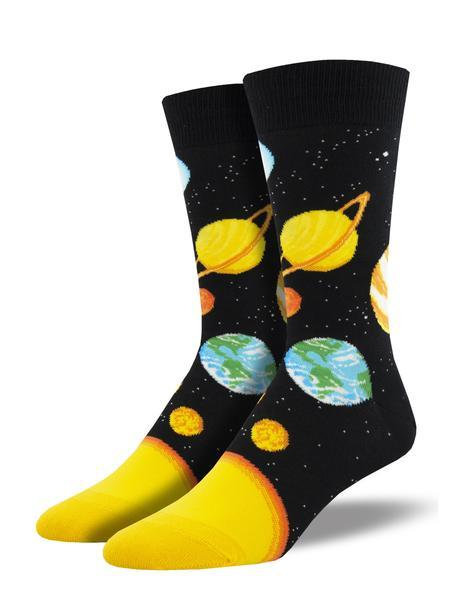 Mens Plutonic Relationship Blk Socks