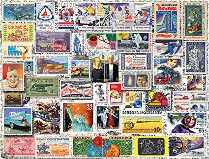 PUZZLE 550 CLASSIC STAMPS