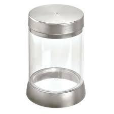 Canister Haley Clear/Brushed