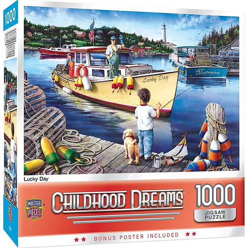 PUZZLE 1000 CHILDHOOD LUCKY DAY
