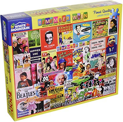 PUZZLE 1000 REMEMBER WHEN