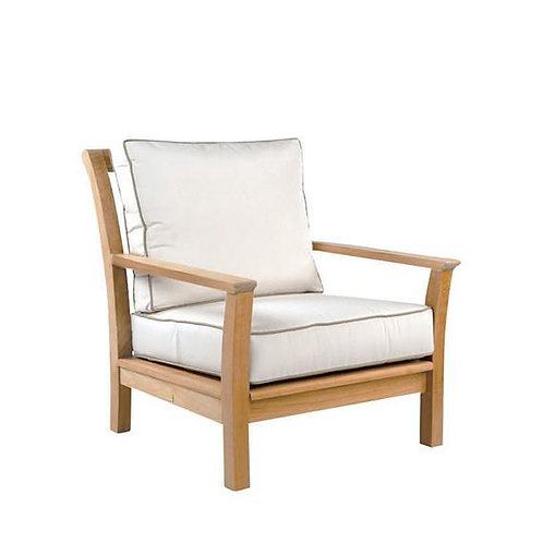 Chelsea Lounge Chair NVY/WHT Welt