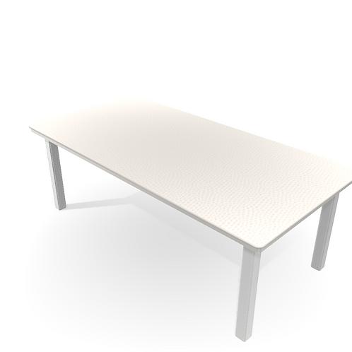MGP TABLE 42X84 WHITE/SNOW