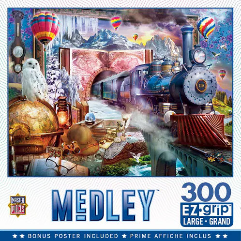PUZZLE 300 MEDLEY MAGCL JOURNEY