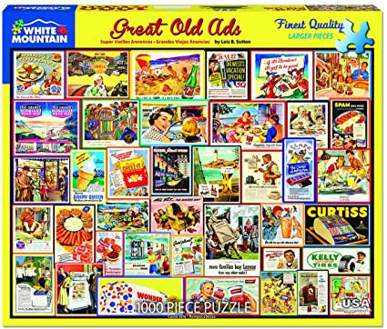 PUZZLE 1000 GREAT OLD ADS