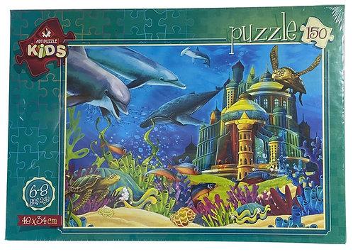 PUZZLE 150 UNDERWATER CASTLE