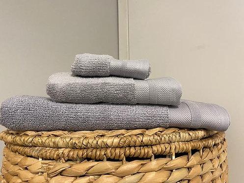 Morgan Bath Towel - Silver