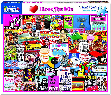 PUZZLE 1000 LOVE THE 80'S