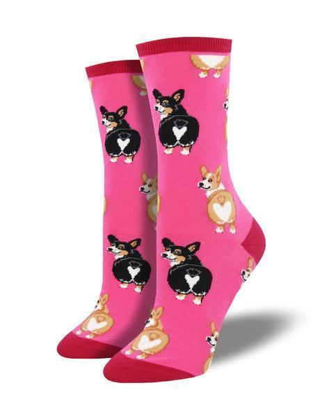 Womens Corgi Butt Socks