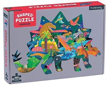 PUZZLE 300 SHAPED DINOSAURS