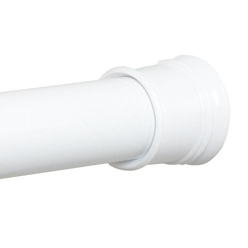 Tension Rod White Stall Size