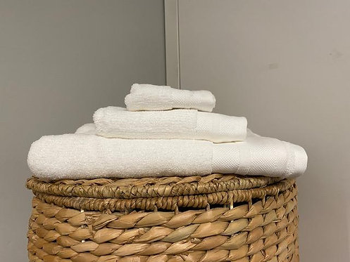 Morgan Wash Towel -White