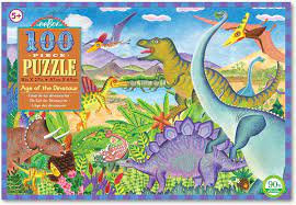 PUZZLE 100 PC AGE OF DINO