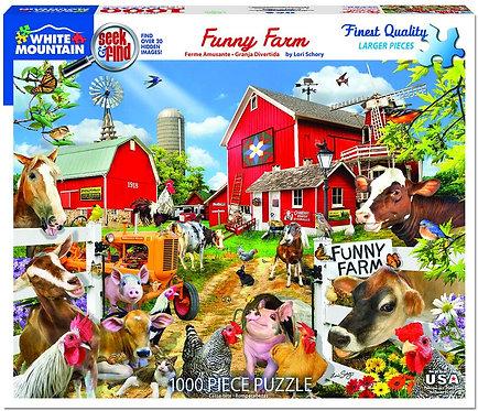 PUZZLE 1000 FUNNY FARM