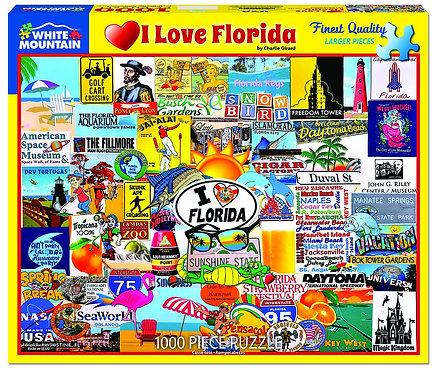 PUZZLE 1000 I LOVE FLORIDA