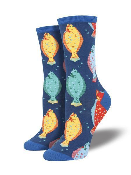 Womens Lost & Found Blue Socks