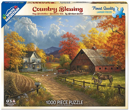 PUZZLE 1000 COUNTRY BLESSINGS