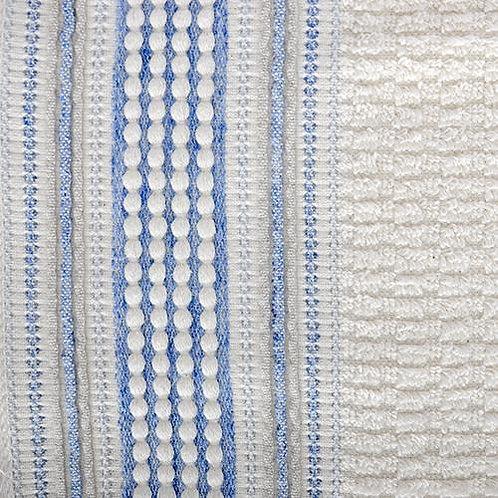Amadora Wash Towel - Blue/Natural