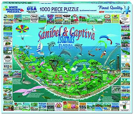 PUZZLE 1000 SANIBEL & CAPTIVA FL