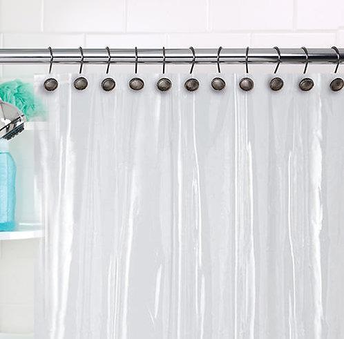 Shower Liner 7.2G EVA Clear