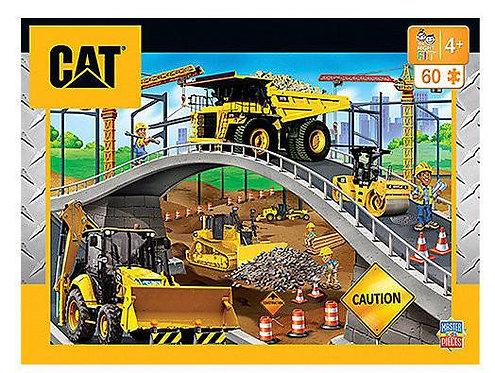 PUZZLE 60PC CAT UNDER BRIDGE