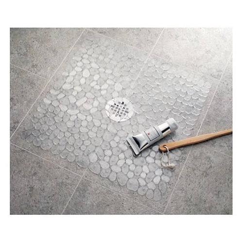 Pebble Shower Mat Clear