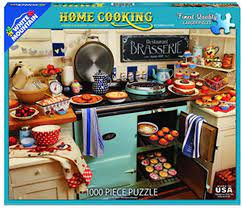 PUZZLE 1000 HOME COOKING