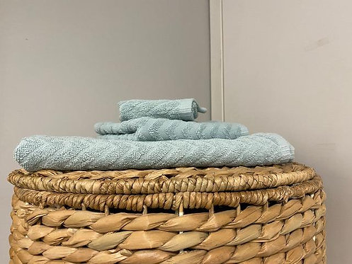 Cancun Bath Towel - Spa Blue