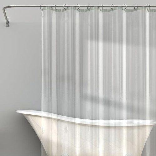 Shower Curtain Liner Heavy Duty Clear