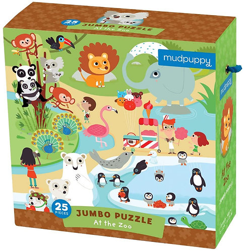 PUZZLE LOOK FIND ZOO AGE 4