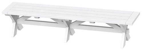 SONOMA CHARCOAL DINING BENCH