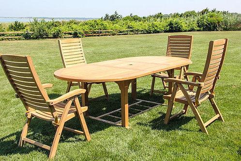 "Dorchester Extension Table 71""-95""-47""W"