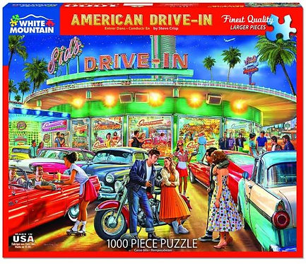 PUZZLE 1000 AMERICAN DRIVE IN