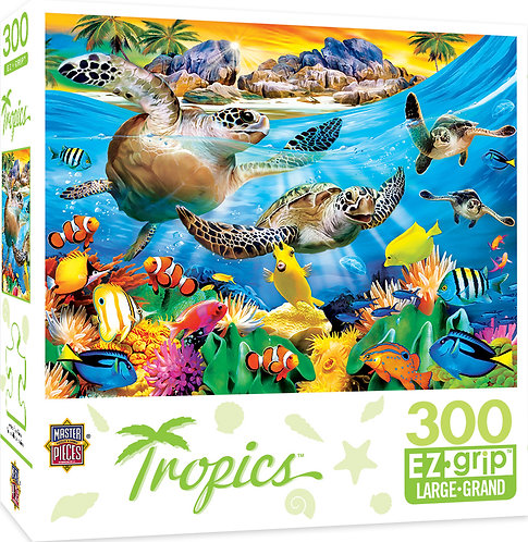 PUZZLE 300 TROPICS BREAKING WAVE