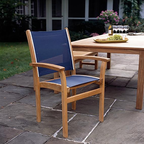 St Tropez Stack Chair - BLUE