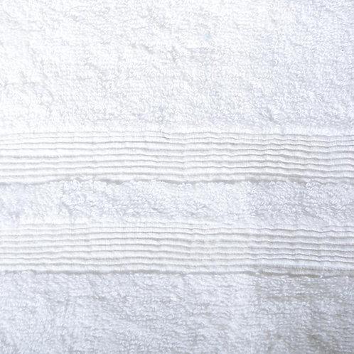 Allure Turkish Cotton Bath Towel - White