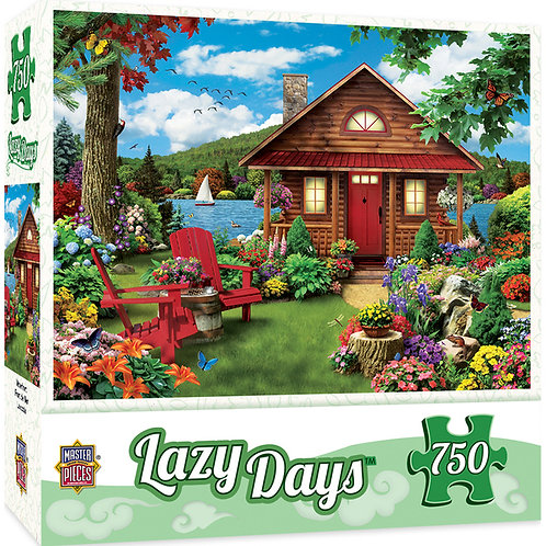 PUZZLE 750 LAZY DAY WATERFRONT