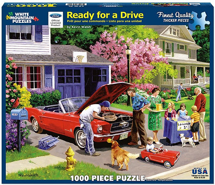 PUZZLE 1000 READY FOR DRIVE