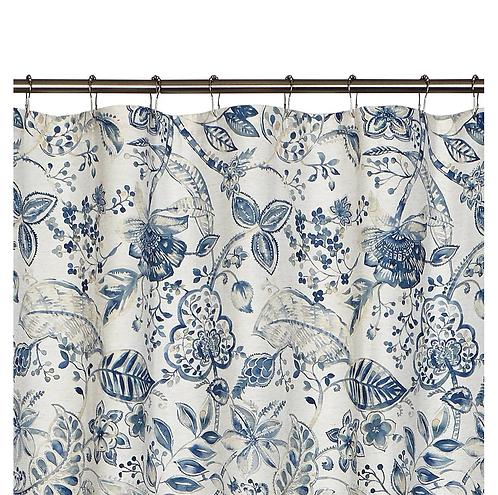 Shower Curtain Georgian Garden